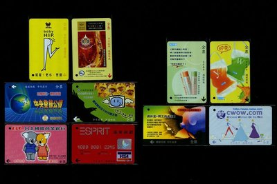 台北市公車票卡 廣告卡 每張1套 共10張(套)一起標 【C1099】
