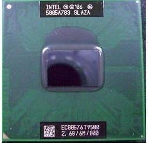【含稅】Intel Core 2 Duo Mobile T9500 2.6G  雙核雙線 35W庫存正式散片CPU一年保