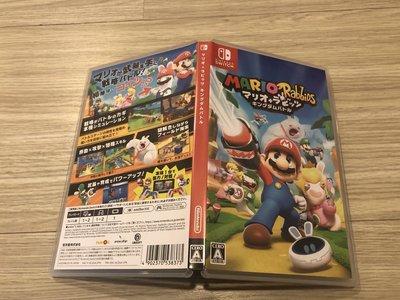 Nintendo Switch NS 瑪利歐+瘋狂兔子 王國之戰 中英文 純日版 售1200