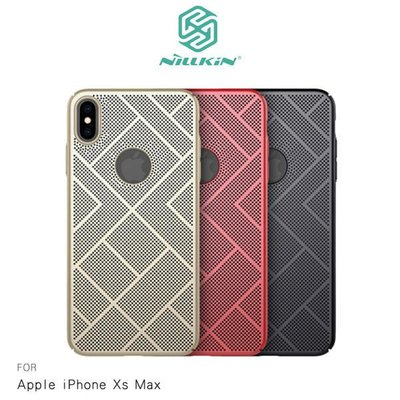 *PHONE寶*NILLKIN Apple iPhone Xs Max 立透散熱手機殼 鏡頭保護 磨砂殼 保護殼 洞洞殼