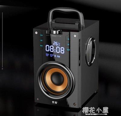 索愛Q22無線藍芽音箱戶外大音量超重低音炮廣場舞3d環繞音響小型家用插卡播放器