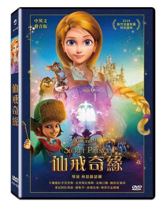 [DVD] - 仙戒奇緣 Cinderella and The Secret Pri ( 飛行正版 ) - 預計3/6發