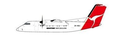 **飛行夢想家**JC Wings 1/200 澳洲航空 Qantas Dash8-100 ZK-NEU