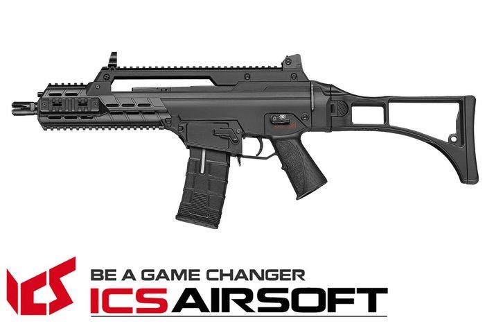 【翔準軍品AOG】ICS AARF(黑)輕量化折疊托 長槍 電動槍 步槍 生存遊戲 ICS-333
