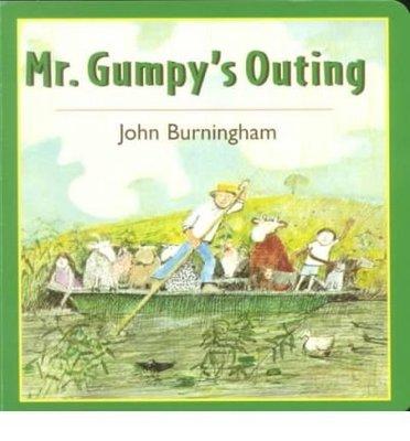 *小貝比的家*MR.GUMPY'S OUTING/硬頁書/3-4歲小班/溫馨情誼