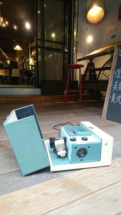 Vintage Americana。復古事 1958年 Kodak 500 projector 美國古董 投影機 能正常使用 柯達