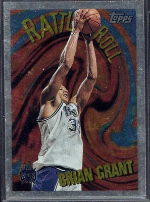 95-96 TOPPS RATTLE &ROLL #R5 BRIAN GRANT