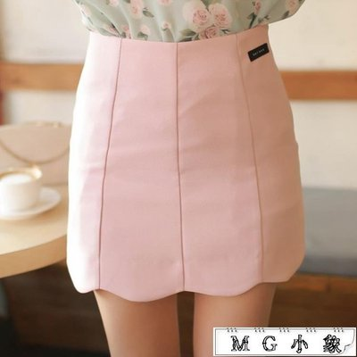 短裙  新款可愛百搭大碼彈力包臀半身裙