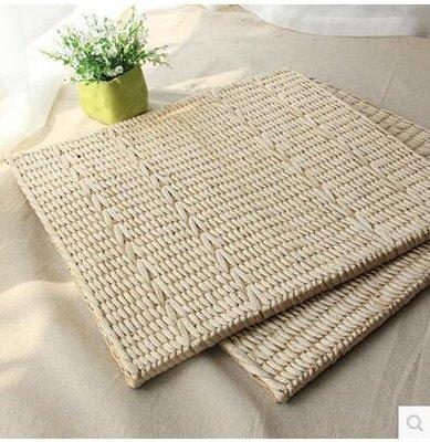【優上】天然植物草編蒲團坐墊 飄窗榻榻米地墊 辦公室椅墊透氣無異味