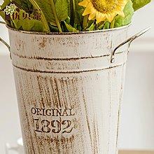 〖洋碼頭〗向日葵仿真花套裝 落地絹布假花客廳盆景裝飾花藝擺件室內餐桌花 ybj167