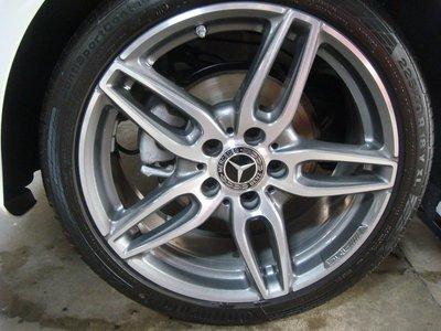 賓士 M-Benz A180 原廠 AMG 18吋鋁圈(含輪胎)~1組