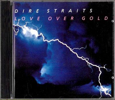 險峻海峽合唱團Dire Straits / Love Over Gold(美版)