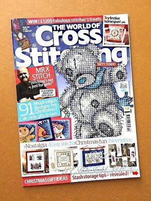 紅柿子【英文彩色版• Cross Stitching 十字繡作品集 Issue 184】特售50元‧