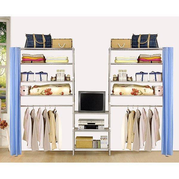 【中華批發網DIY家具】D-59-04-W4型90+60+90公分置物架---可升級成完全防塵置物架