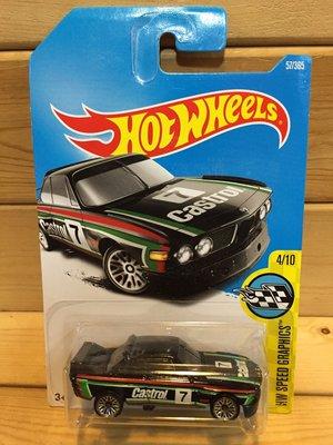 (I LOVE 樂多) 風火輪 Hot Wheels '73 BMW 3.0 CSL RACE CAR 模型車 高雄市
