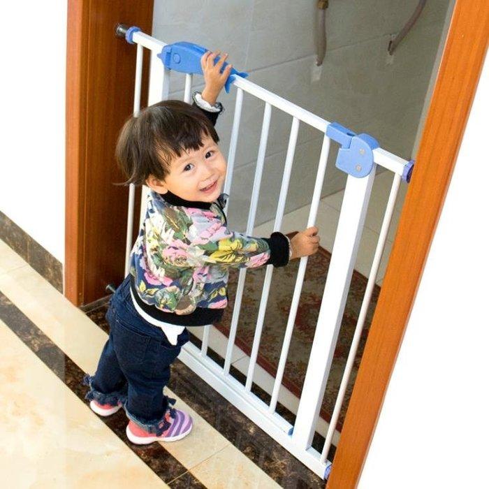 嬰兒童防護欄寶寶樓梯口安全門欄寵物狗狗圍欄柵欄桿隔離門免打孔YS