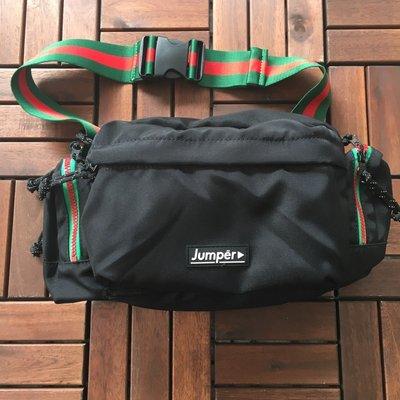 ☆LimeLight☆ JUMPER - THE CRUZER + WAIST BAG 腰包 黑色