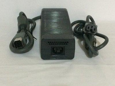 XBOX360 厚機203W 原廠變壓器 電源供應器 電源線110V  7成新
