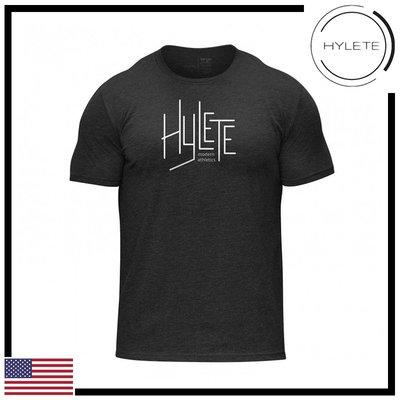 ►瘋狂金剛◄黑色 HYLETE modern tri-blend crew tee 柔軟 透氣 短袖T恤