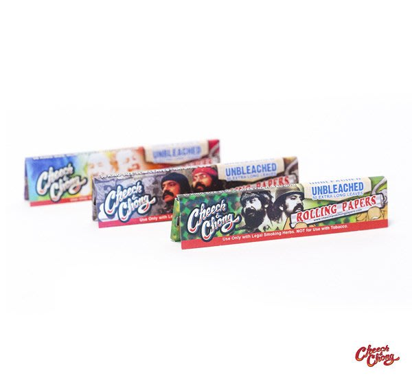 GOODFORIT / Cheech & Chong UNBLEACHED Papers 1 1/4捲菸紙