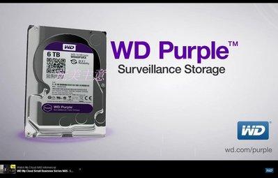 玩美主意 4T 紫標 WD Purple 監控專用硬碟 3年免費保固