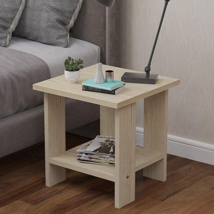 免運❤小茶几簡約現代迷你小戶型客廳沙發邊几角几臥室床頭櫃桌-韓迪雅