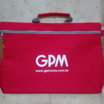 【股東會紀念品】GPM 手提包 輕便公事包 帆布手提包  6*37*26