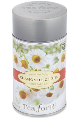 美國 TEA FORTE Chamomile citron loose leaf herbal tea 50g(預購)