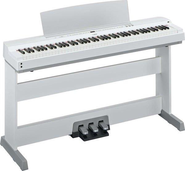 造韻樂器音響- JU-MUSIC - 全新 YAMAHA P-255 P255 WH 白色 日本原裝 電鋼琴 數位鋼琴 另有 KAWAI CASIO