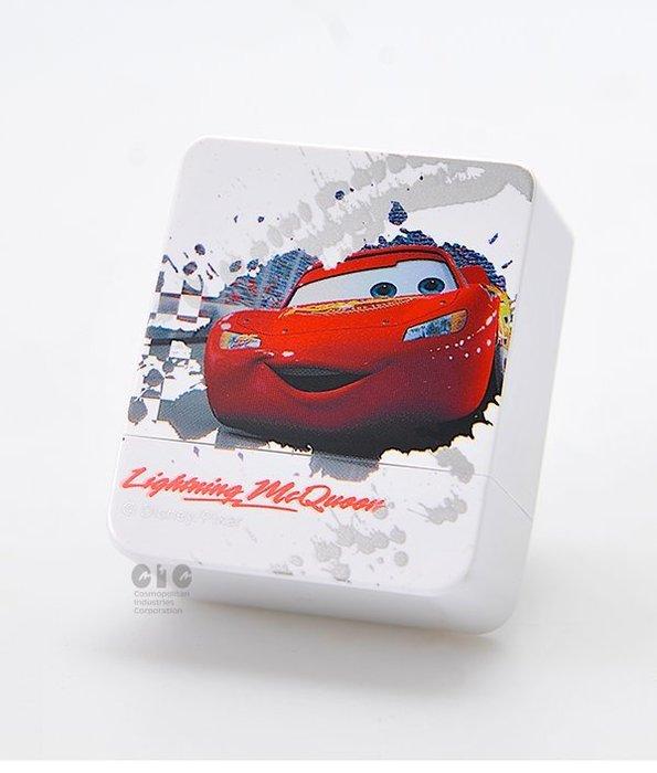 迪士尼印章 閃電麥坤 CARS 經典CARS 方塊章 印章 正版授權 印章 卡通印章 姓名印章