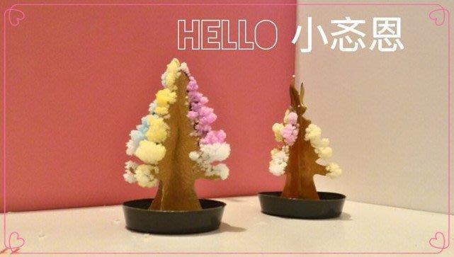 神奇魔法樹 聖誕樹 迷你小許願樹 紙樹開花 創意聖誕節禮品~現貨《HELLO 小忞恩》