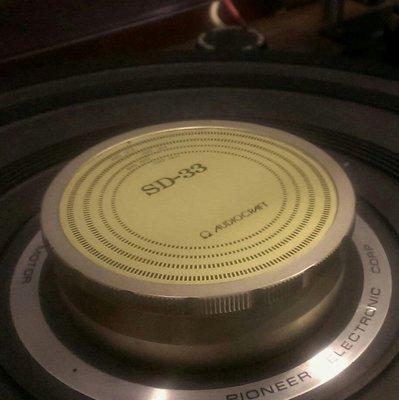 ⊙已售出⊙US$299 Audiocraft SD-33唱片鎮,非Micro Seiko Linn Thorens MC