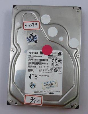 【冠丞3C】東芝 TOSHIBA 3.5吋 SATA 4T 監控 硬碟 HDD MD04ABA400V S-079 高雄市