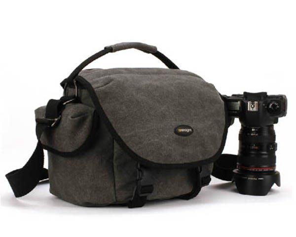 5Cgo 【鴿樓】 含稅會21325371791  專業單反相機包 單肩複古 休閑 斜背包 單反包 背包 單肩包 帆布包