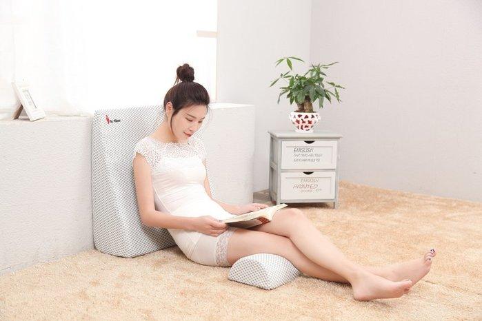抱枕胃食管反防流膽反流汁性斜坡仰臥床墊孕婦護理加高坡度靠墊背枕頭