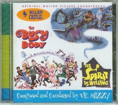"""Busy Body/Spirit is Willing""- Vic Mizzy,全新美版"