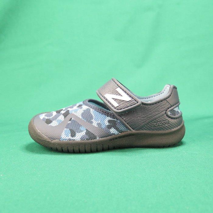 【iSport愛運動】New Balance 涼鞋 公司貨 YO208CGR 中童鞋 墨灰 寬楦 整數尺碼