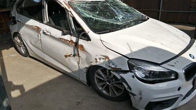 F45. 2016年 BMW 218d