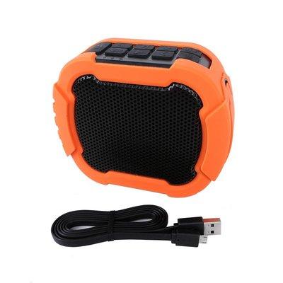 格律樂器 iCreation BT-143 橘色 IPX7等級 防水藍芽 立體環繞音響 藍芽喇叭