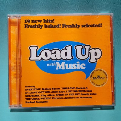 Load Up with Music戀愛真有味 2004年BMG/二手CD