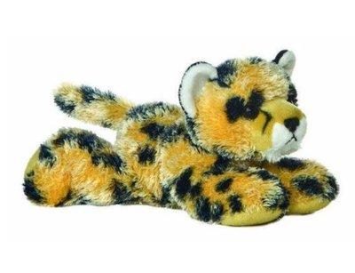 14715c 日本進口  好品質 限量品 可愛柔順 毛茸茸  獵豹花豹 動物娃娃抱枕絨毛絨玩偶娃娃擺設玩具禮品禮物