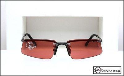 【mi727久必大眼鏡】LACOSTE 金屬半框太陽眼鏡 抗紫外線 全新真品  優雅品牌 全面出清單一特價 下標即賣