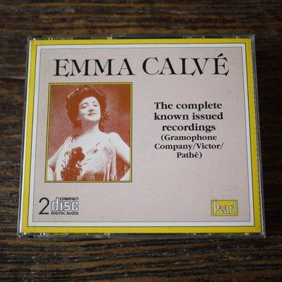 【午後書房】Emma CalveThe Complete Known Issued Records 寄160129-66