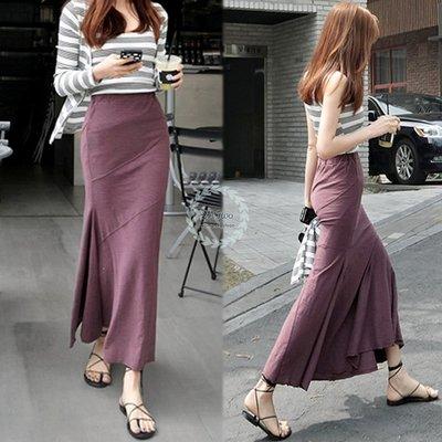 可單購裙( 2A Two】한국핫세일🍅包臀魚尾裙⌒條紋吊帶背心+外套+魚尾裙 三件式『BA0620』