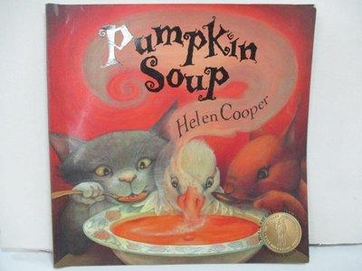 【書寶二手書T1/少年童書_EZ2】Pumpkin Soup_Helen Cooper