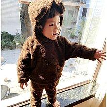 yes99buy加盟-{保暖絨毛}珊瑚絨連帽童寶寶 童裝冬季兒童睡衣家居服   預購7天+現貨