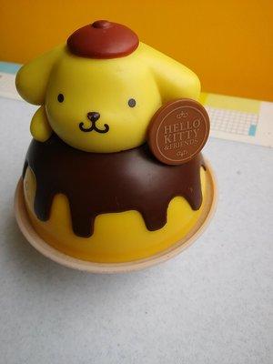 **M8-16** (裸裝無盒)Hello Kitty & Friends 布丁狗塑膠公仔玩偶/表面有使用磨擦痕跡/能接
