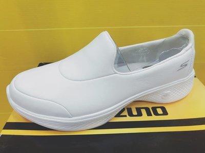 SKECHERS 女 GOWALK 4 休閒鞋 運動鞋 健走鞋 皮革面 14908WHT 全白 公司貨 現貨