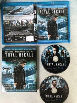 極新二手藍光--【攔截記憶碼】 Total Recall 柯林法洛