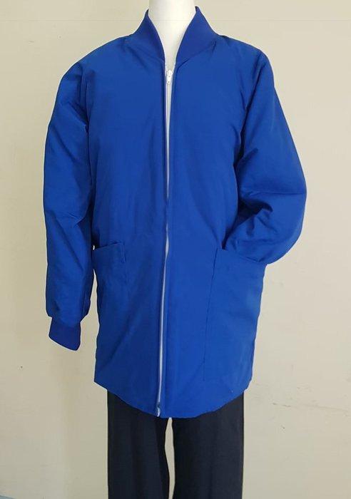 ☆°萊亞生活館 °防寒外套【舖棉刷手外套-中藍色】